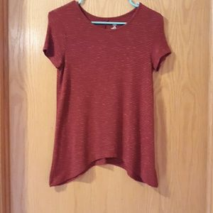 NWOT Old Navy Red Striped Shirt